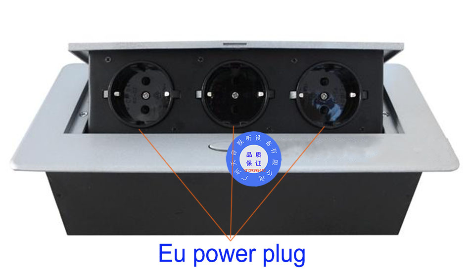 Heiße verkäufe/Pop-up sockel/EU stecker Tabletop buchse/versteckte/Dämpfung frühjahr offen Informationen outlet /büro desktop buchse/A12