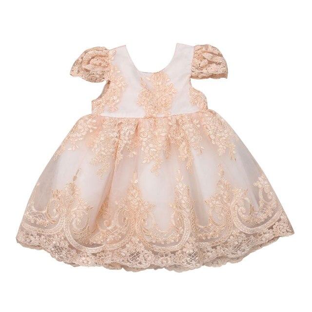 1 năm Sinh Nhật Cho Bé Gái Rửa Tội Đầm Christams Sơ Sinh Bé Gái Voan Đảng Đầm Công Chúa Bé Gái Christening Mặc Váy