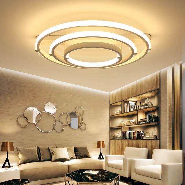 Nouveau Cercle Anneaux designer Moderne led plafonniers lampe pour ...
