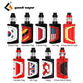 Freiheit Geekvape Aegis Legende 200W TC Kit w/4 ml Kapazität Alpha Tank Einstellbare Bottom Luftstrom E- cig Vape Kit Vs Drag 2 Kit