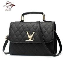 цена на Luxury Famous Brand Black Handbag Women Bags Designer Crossbody Bags Small Messenger Bag Ladies Shoulder Bag Bolsa Feminina Tote