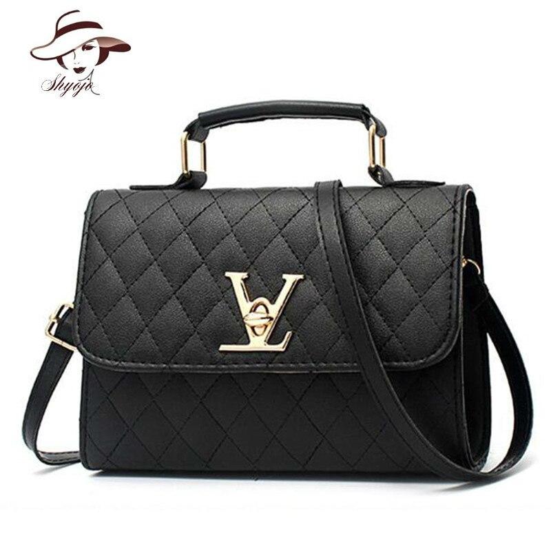Luxury Famous Brand Black Handbag Women Bags Designer Crossbody Bags Small Messenger Bag Ladies Shoulder Bag Bolsa Feminina Tote