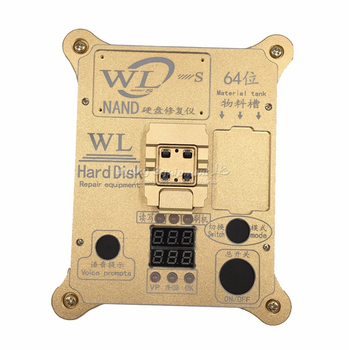 WL 64 Bit hard disk test repair instrument IC Chip Mainboard Nand Flash Programmer HDD Serial Number SN ipad mini2 hdd disk nand fixture repair tool for refresh the system nand and re write sn data recovery with directly assembly