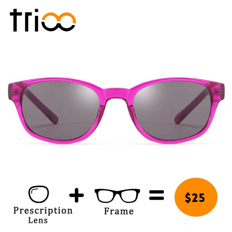 4dc0017d4b TRIOO Teenager Photochromic Myopia Glasses Children Polarized Prescription  Sunglasses Graduate Reading Oculos de grau feminino