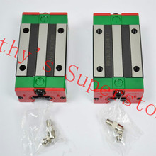 HIWIN linear guideway blocks HGH20HA long linear carriages for CNC router