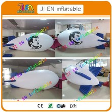 Free shipping 4m helium blimp / cheap balloon sale / inflatable advertising balloon / big inflatable air blimp/ helium air ship