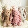 2017 New Arrived Simulation Rabbit Baby kids dolls Lifelike Rabbit Plush dolls & stuffed toys Kids Lovely Holiday Gifts WW124