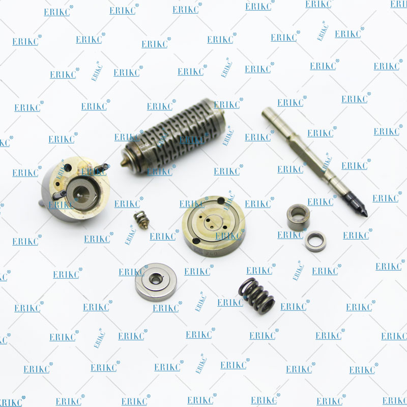 ERIKC Original Genuine New Common Rail Pizeo Injector Valve Assembly for B osch 116 117 Series