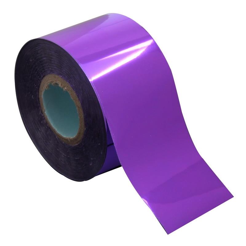 120m*4cm Elegant Purple Color Nail Art Transfer Foil Holographic Laser Fingernail Wrap Nail Sticker Women Make Up Tool WY289 9 rolls colorful flower nail foil 4 100cm holographic starry full fingernail manicure nail art transfer sticker