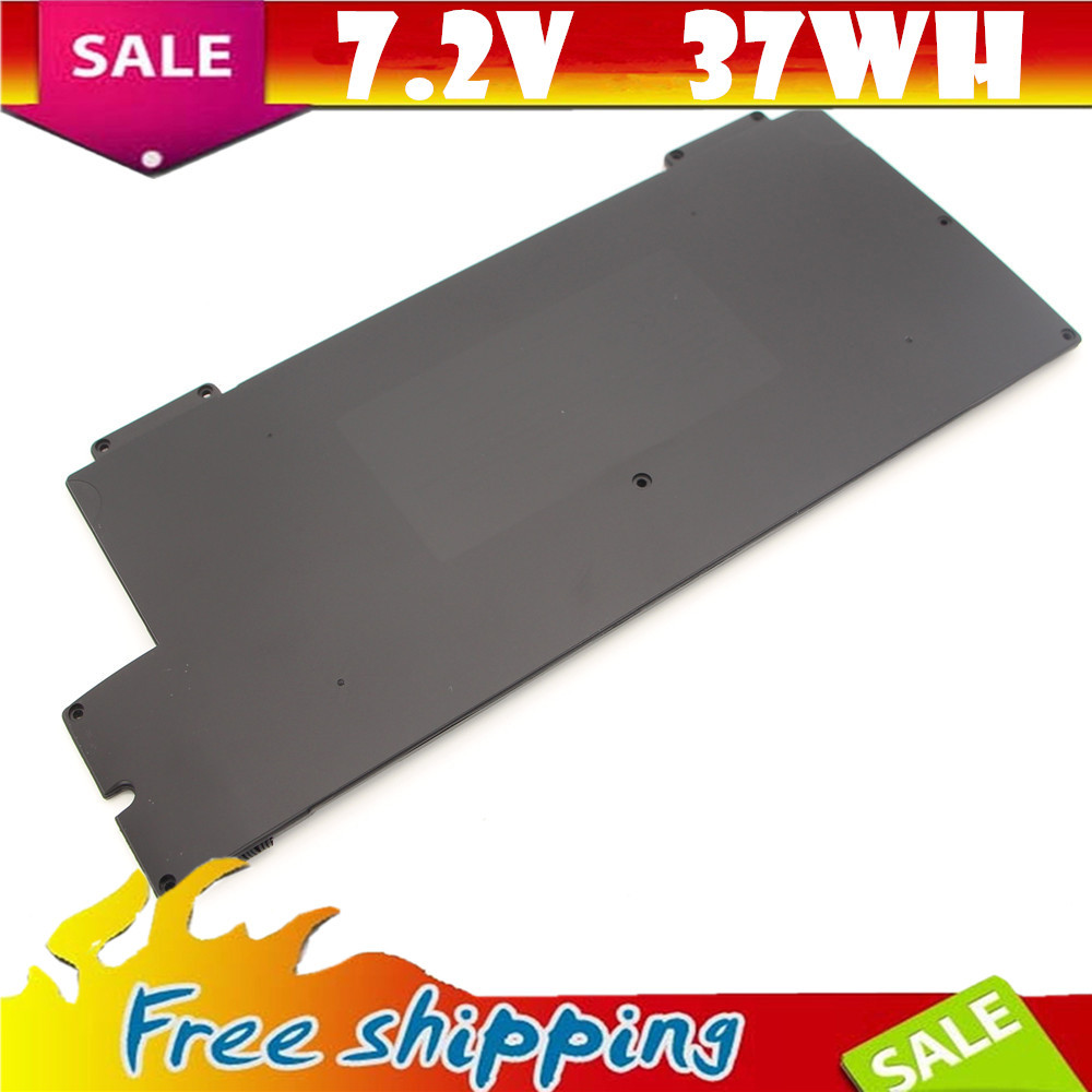 Battery A1245 7.2V 37wh Replacement laptop battery A1245 for Apple MacBook Air 13 A1237 A1304 Free shipping A1245 Bateria MB003