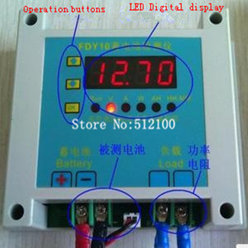 Tester FDY10-S Variety Discharge-Instrument Battery Lithium-Battery-Capacity Universal