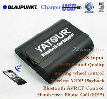 Yatour YT-BTA for Blaupunkt Rover 25/45/MGF Bluetooth car kit Hands free phone call A2DP music adapter for smartphone