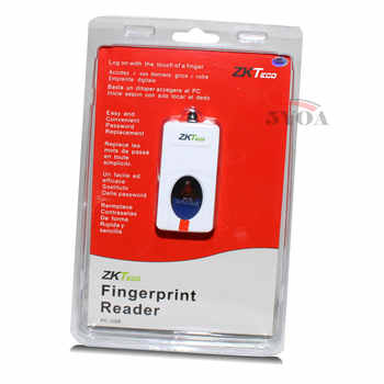 ZKTeco ZK9000 Digital Persona USB Bio Fingerprint Reader Sensor for Computer PC Home Office Free SDK Same URU5000 URU4500