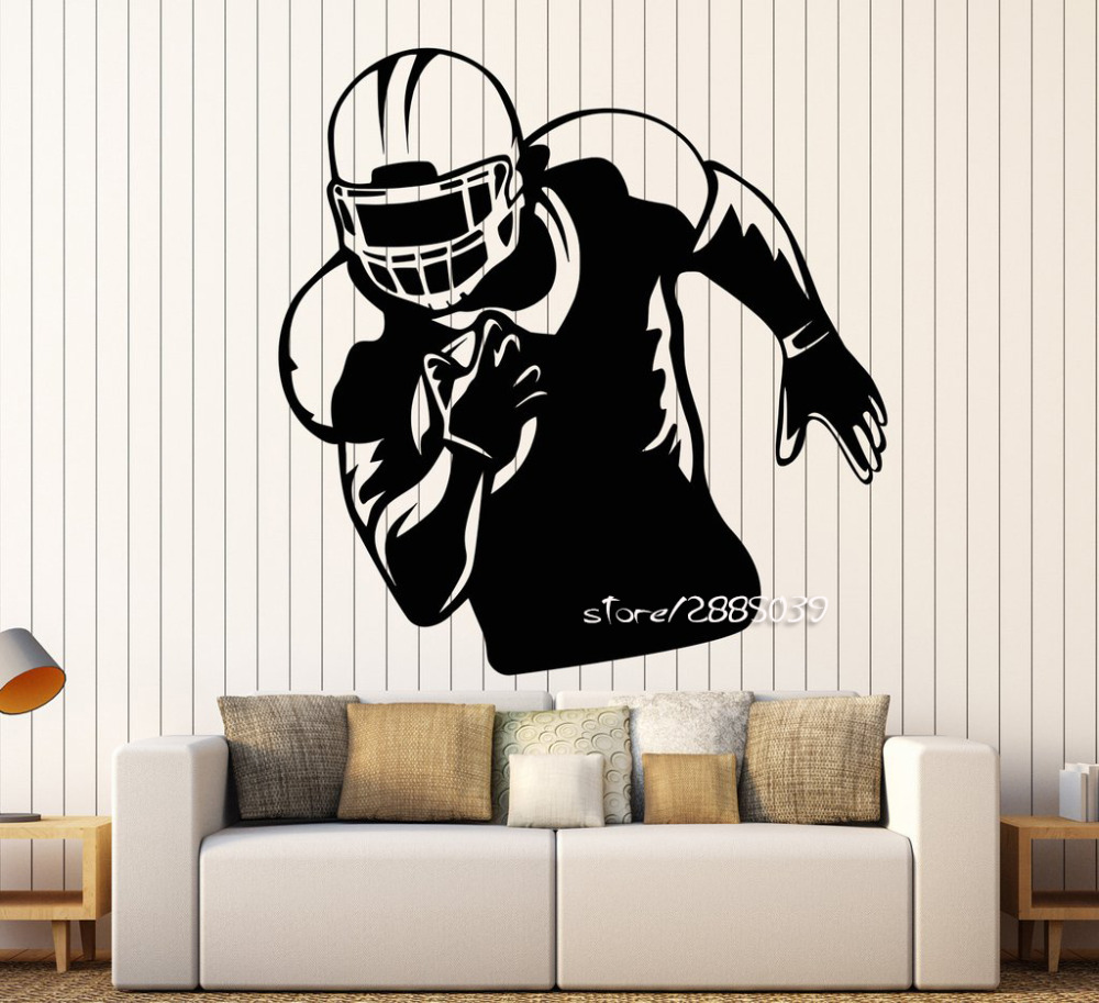 Football player wall stickers images home wall decoration ideas american football player wall stickers sports helmet wall decals american football player wall stickers sports helmet amipublicfo Gallery