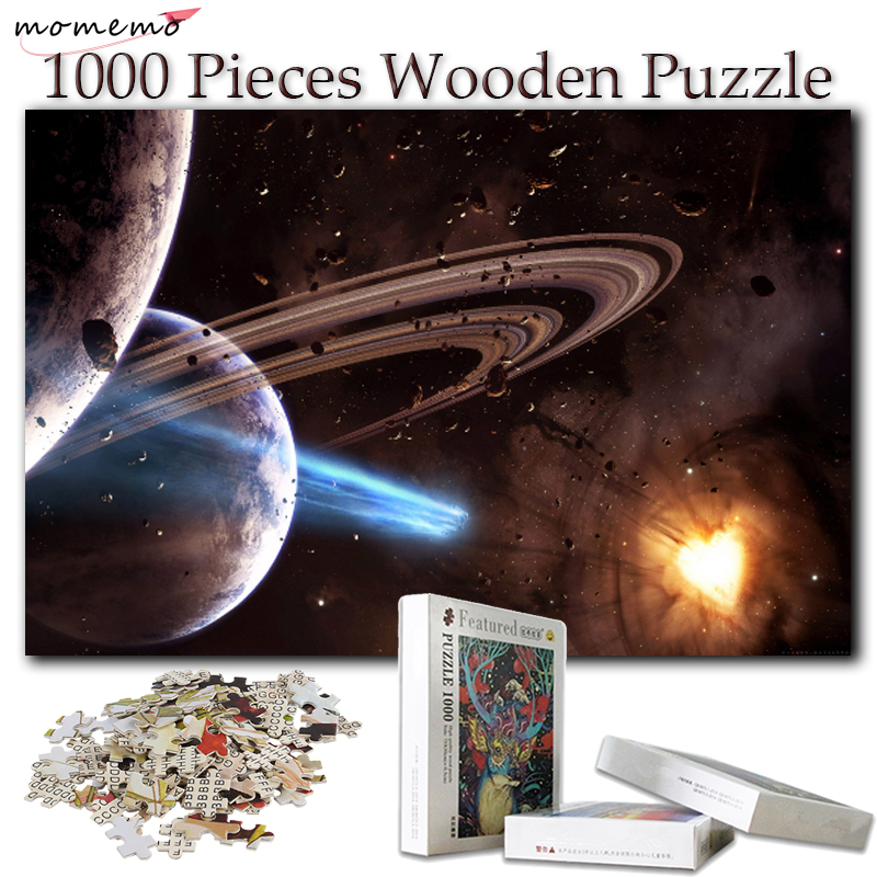 MOMEMO Puzzles for Adults Puzzle 1000 Pieces Puzzle Games Wooden Toys Puzzles for Kids Children Educational Toys Games Gifts 1