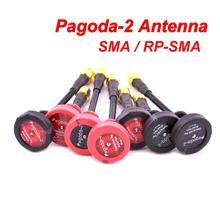 Пагода 2 пагода-2 5,8 ГГц FPV антенна SMA и RP-SMA Разъем для RC FPV гоночный Дрон Квадрокоптер Wizard X220S