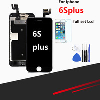 for pantalla iPhone 6s plus LCD screen touch screen digitizer with full replacement module+Home button and camera
