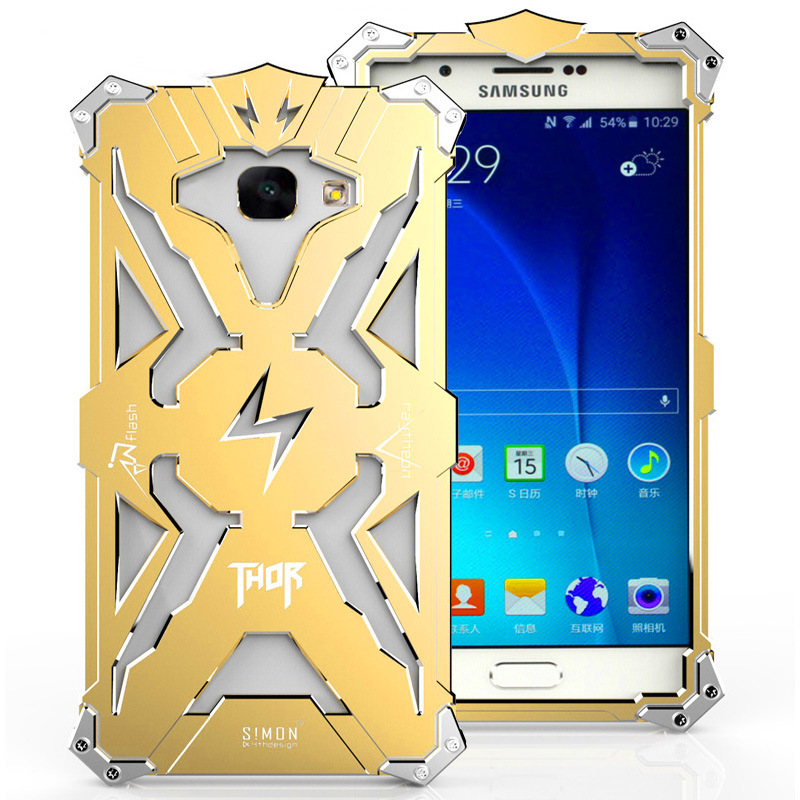 For Samsung Galaxy a5 2017 <font><b>Case</b></font> Aluminum Metal <font><b>Ironman</b></font> Cover for Samsung A5 2017 <font><b>Phone</b></font> <font><b>Case</b></font> Thor Smartphone Protection 5.2 inch