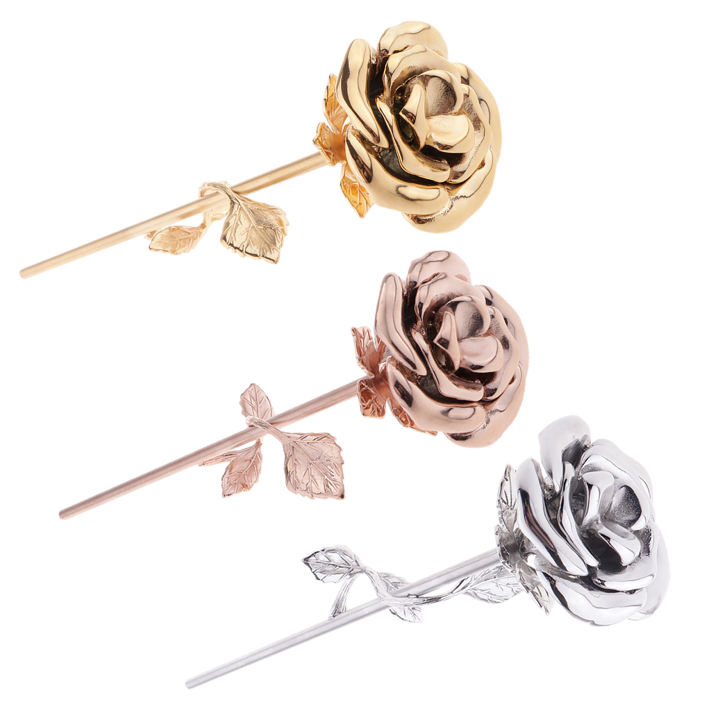 Stainless Steel Hollow Rose Flower Ashes Urn Cremation Jewelry Memorial Keepsake,or Hold the Hair or Perfume or Loving Letter