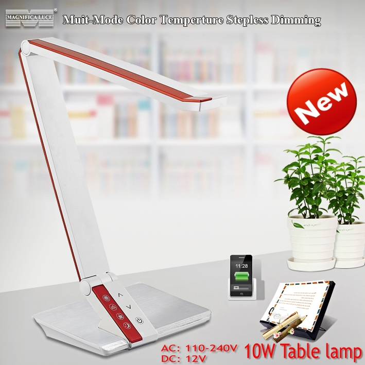 Best price led table lampreading lampled study lamp 10w 4 color best price led table lampreading lampled study lamp 10w 4 color temperature adjustment and dimmer design in led table lamps from lights lighting on aloadofball Images