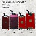 Замена ЖК-дисплея для iPhone 6 ЖК-экран дигитайзер сборка Дисплей сенсорный для iphone 6S экран AAA Качество для iphone 6s plus Lcd