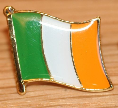 factory outlets custom made lapel name badges most popular ireland irish eire country metal flag