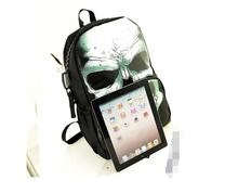 1 piece Cool colorful Printing Skull Head Senior High School Bag For Teenage Boys Laptop Mochilas backpack