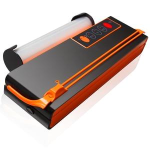 Image 2 - ATWFS Vacuum Sealer Sealing Machine Packing Machine Packaging Food Saver Automatic Cutting Vacuum Bag 10pcs for free