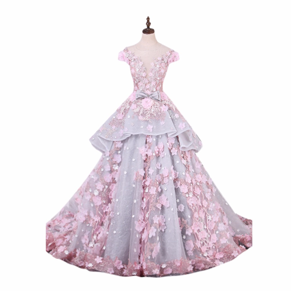 ANTI Luxury Princess Quinceanera Dresses 2018 Lavender Ball Gown ...