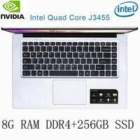 256g ssd intel P2-35 8G RAM 256G SSD Intel Celeron J3455 NVIDIA GeForce 940M מקלדת מחשב נייד גיימינג ו OS שפה זמינה עבור לבחור (1)