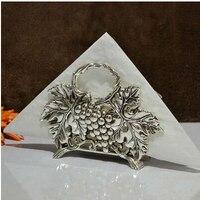 Fashion hello kitty tissue rack napkin holder paper towel tube tissue box silver/gold plated tissue holder ZJJ001
