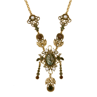 kpop Alloy Geometric Vintage Necklaces & Pendants Halloween Metal jewelry From India