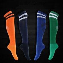 Высокое качество, футбол, футбольный носок, мужские, детские, для мальчиков, спортивные, длинные, махровые носки, баскетбольные, medias de futbol, для велоспорта, плотные, Нескользящие