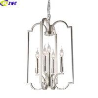 FUMAT 5 head American Standard Brand Original Single Pendent Light Simple Style Light Study Room Lamp Bar Lamp Cage Light
