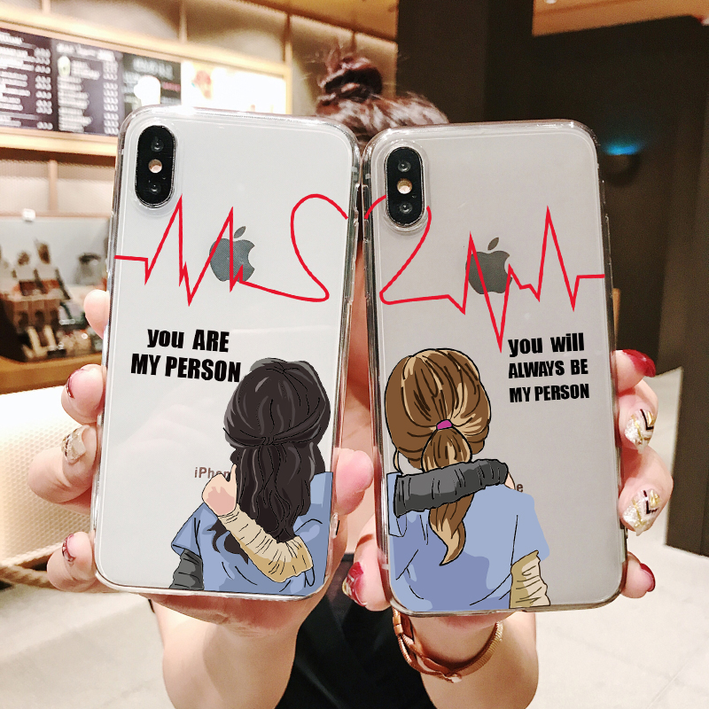 You 39 re My Person For Fundas Greys Anatomy Soft silicone TPU case phone cover for iPhone SE 5 5S 6 6SPlus 7 8Plus MAX XR XS X10 in Phone Pouches from Cellphones amp Telecommunications