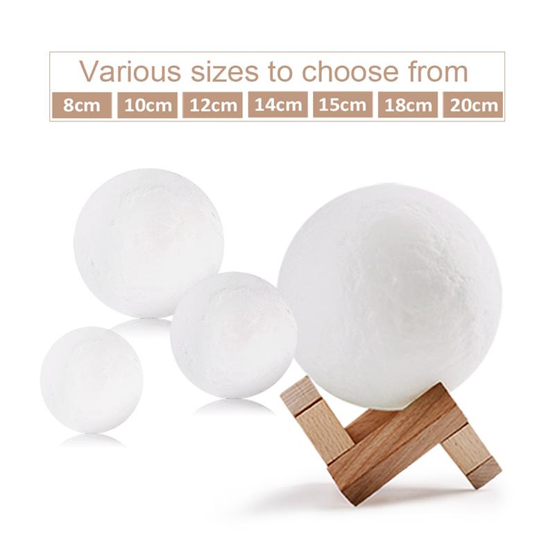 3D Print Moon Lamp (2)