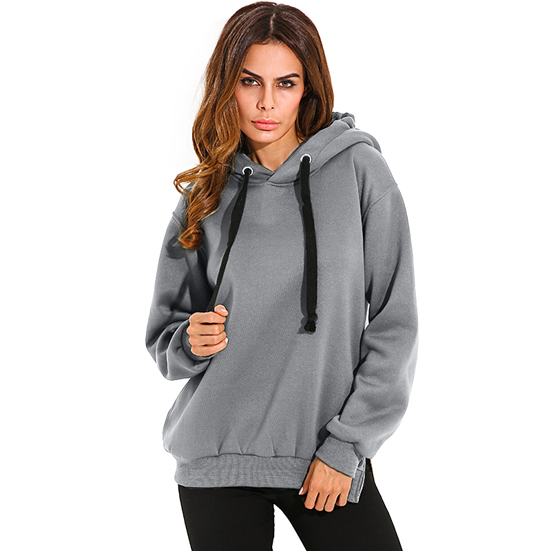 2018 Winter Women Hoodies Long Sleeve Hooded Loose Casual Warm Sweatshirts Oversized Plus Size Tops Blusas Femininas