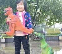 Große Größe 65 cm Dinosaurier Spielzeug Action-figuren Tyrannosaurus Rex Weiche Tier Modell Junge Spielzeug für Kinder Geburtstag Geschenk