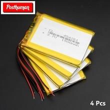 3,7 в Lipo MP5 Bluetooth динамик gps Bateria 454261 1500 мАч литий-полимерные аккумуляторы высокой мощности 61x42x4,5 мм