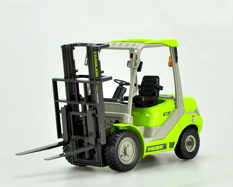 new Original 1:20 Zoomlion Alloy forklift truck model Collection model
