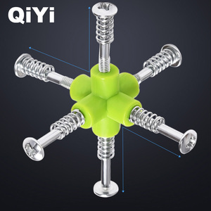 Image 4 - QIYI Krieger W Geschwindigkeit Cube 3x3x3 Zauberwürfel 5,6 CM Professionelle Puzzle Rotierenden Glatten Cubos Magicos spielzeug für Kinder Geschenke MF3