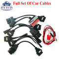 Best Price Car Cable Diagnostic Interface For CDP VCI OBD2 Cables Full Set Of 8 Car Cables For TCS CDP Pro Plus