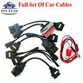 Mejor Precio Cable de Diagnóstico del Interfaz Del Coche Para CDP VCI OBD2 Cables Conjunto completo De 8 Cables Del Coche Para TCS CDP Pro Plus