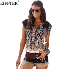 EIFFTER Summer Women Dress New Casual Ladies O-neck Short Sleeve Print Sexy Mini Bodycon Dresses Plus Size 0067