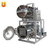 Electricity High Pressure Canned Food Industrial Autoclave Machine Price