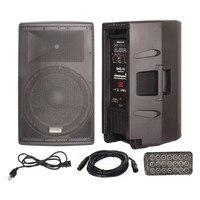 Staraudio 15 дюймов класса D активной Pro PA DJ 4000 Вт 4 Ом 2 способ этап аудио Bluetooth Динамик