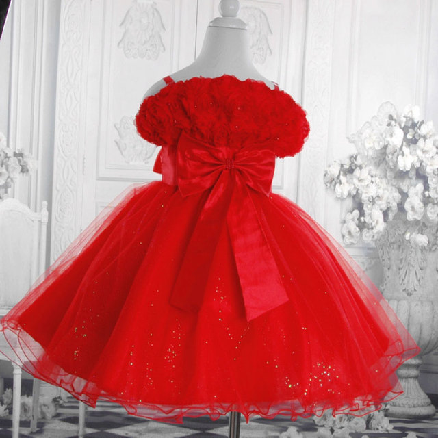 retail girls princess beautiful dress , flower dress, evening clothes for  3-12 years free shipping 5298