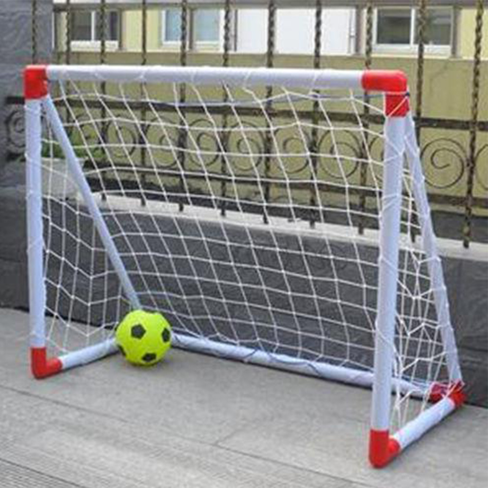 4x5FT Football Soccer Goal Post Nets Sport Training Match Full Size 1.2mx1.5m