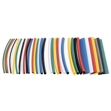 200 PCS/Lot Halogen-Free 2:1 Heat Shrink Tubing Wire Cable Kit 6 Sizes 7 Colors for Wrap Electrical Equipment Supplies