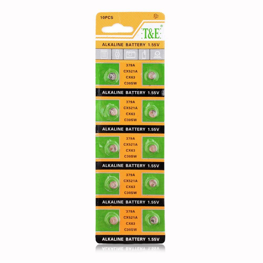 Botão Baterias Celulares alta potência + vendendo rápido Tensão Nominal : 1.55v